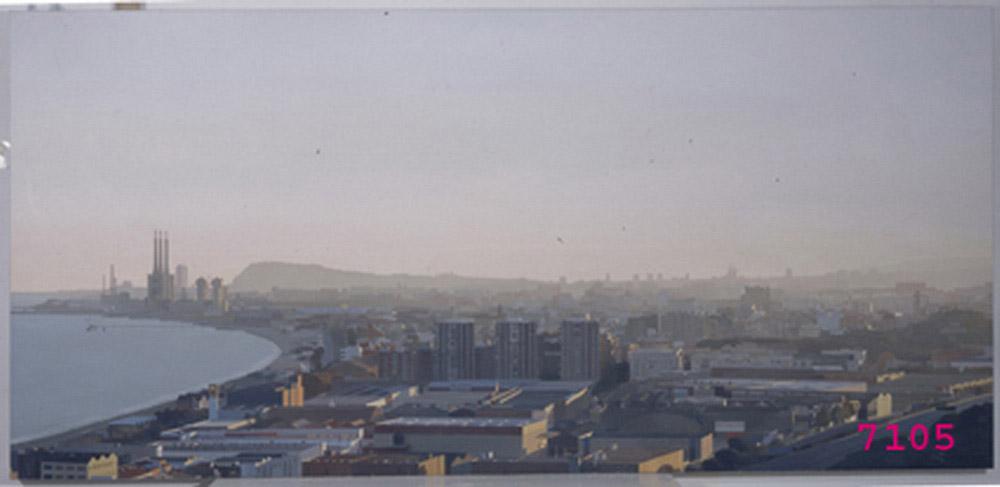 Panoramica de Badalona - s.XX - Museu de Badalona